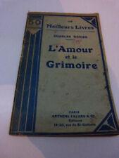 charles nodier , l'amour et le grimoire (cai104)