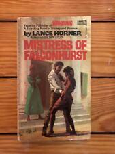 Mistress Of Falconhurst - Lance Horner 1973 Fawcett Paperback VG Mandingo