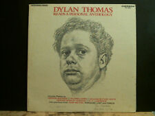 DYLAN THOMAS  Reads A Personal Anthology   LP Stereo U.S. pressing  Lovely copy!