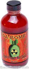 Da Bomb Ghost Pepper Hot Sauce 4oz