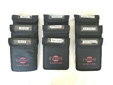 Cavision 4 x 5.65 filter bundle w/9 filters: ND's, Grads, Pola, Colors - MINT!