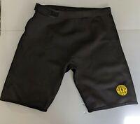 GOLDS GYM Neoprene Shorts Black Lifting Cycling Compression Sz L/XL
