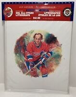 Guy Lafleur - NHL - Canada Post - Lithograph - New Sealed w/ Stamps RARE
