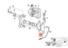 Genuine BMW Z3 3 5 7 Series E36 E34 E32 Rear Brake Pads Pad Set OEM 34211162536