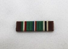 WWII US European African Middle Eastern Campaign Ribbon Bar each R1607