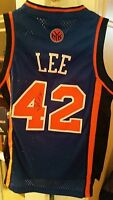 David Lee signed jersey YOUTH autographed KIDS knicks autograph size S small nba