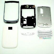 New Full Housing Cover + Frame + Keypad For Blackberry 9800 White