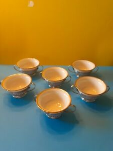 Lenox sterling silver with inserts set of six.