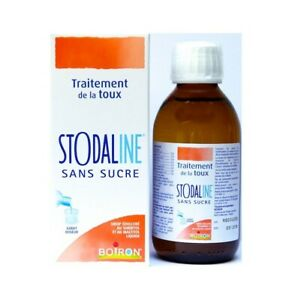 Boiron STODAL STODALINE 200ml -SUGAR FREE  homeopathic cough syrup - Original