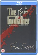 The Godfather Complete [4 Disc] Blu Ray Collection Box Set Parts 1 2 3 Trilogy