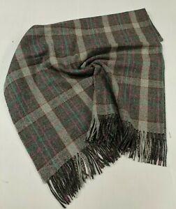 100% Pure New Wool Check/Herringbone/Tartan Throws/Blanket
