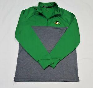 Nike Oregon DUCKS Golf 1/4 Zip Up JACKET Pullover Logo COAT Men's Medium