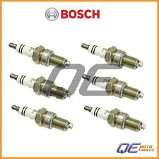 Set of 6 BMW E10 2002 2500 3.0CS 3.0S Spark Plug Bosch WR-7-DC+ 7900 12129062594