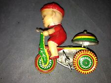 Vintage toys. 2 For Price Of One! Others On Ebay Are $85.00 Just For Boy On Bike