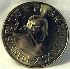 POPE JOHN PAUL II  / CHRIST AMONG POOR 1999 VATICAN  COIN