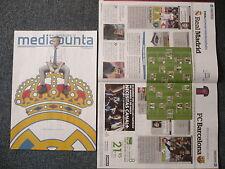 REAL MADRID V FC BARCELONA FINAL SUPERCOPA ESPAÑA 2012 - Programa - Programme