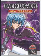 BAKUGAN - NEW VESTROIA - VOL. 2 - DVD (NUOVO SIGILLATO)