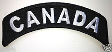 *** CANADA *** Biker Rocker Patch P2741 EE