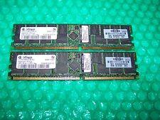 4GB HP Infineon PC3200R 400 MHz DDR ECC Registered Server di memoria (2x 2Gb)