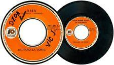 Philippines RICHARD LA TORRE Kiss OPM 45 rpm Record