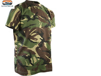 DPM CAMO T-SHIRT Army Military Camouflage All Sizes Airsoft Paintball