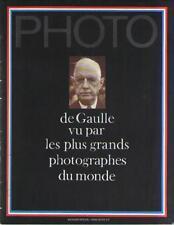 Revue Photo de Gaulle vu par les plus grands photographes du monde No Hors-série