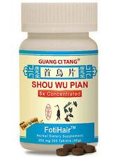 Guang Ci Tang, Shou Wu Pian, FotiHair, 200 mg, 200 ct