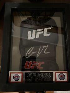 Conor McGregor Framed Autographed UFC Glove COA JSA Auto Authentication