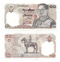 THAILAND 10 BAHT 1980 SIGN 54 UNC P 87