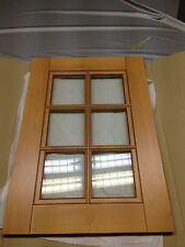 Beech Kitchen UNIT/CUPBOARD GLASS DOOR 500MM X 715MM