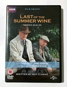 Last of the Summer Wine: Series 23 & 24 - BBC TV Comedy Sitcom - RARE 4-DVD Set