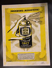 OBEY Warning Addictive Fine Art Signed & Numbered Print LE250 In Hand