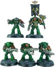 Warhammer 40K Space Marines Salamanders Devastators Squad