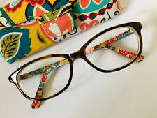 Vera Bradley VB RILEY Provencal PRV Eyeglasses 53-15 Ladies Medium with case