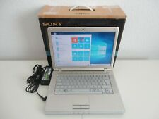 "SONY VAIO VGN-CR21Z Laptop Notebook 14,1"" 1,80GHz 200GB HDD 2 GB RAM Windows 10"