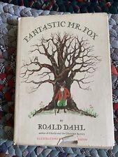 Fantastic Mr. Fox by Roald Dahl, C 1970, Borzoi Book, Hc w/ Dj, Illus