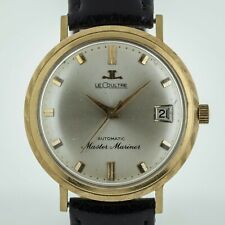 Jaeger LeCoultre Master Mariner Vintage, 14K Yellow Solid Gold Men's, Auto, 1962