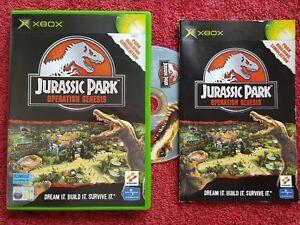 JURASSIC PARK OPERATION GENESIS MICROSOFT XBOX 11+ PAL