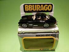 BBURAGO 0132 MERCEDES BENZ 300 SL CARRERA - RARE SELTEN - VERY GOOD IN BOX