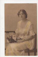 Gladys Cooper Actress 1916 Postcard 532a