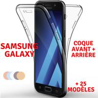 Coque Full TPU Silicone Avant+ Arriere Samsung Galaxy S10/S9/J6/A9/A50/A40/A10