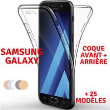 Coque Full TPU Silicone Avant+ Arriere Samsung Galaxy S20/S10/S9/A51/A50/A40/A10