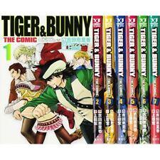 Manga TIGER & BUNNY THE COMIC VOL.1-7 Comics Complete Set Japan Comic F/S