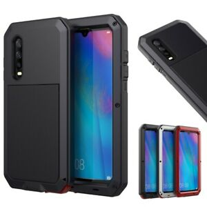 For Huawei P30 / Mate 20 Full Protective Waterproof Shockproof Metal Armor Case