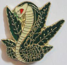 Cobra Marijuana Leaf Lapel Hat Pin Pot Tie Tack Hippie Cannabis Weed