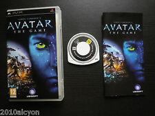 JEU Sony PSP : AVATAR The Game (UbiSoft COMPLET envoi suivi)