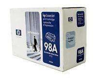 HP 92298A Black Toner Cartridge 98A Genuine New