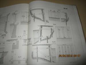 Atlas Praktische Arbeiten Baukonstruktionen des Zimmermanns um 1875 (R1/3)