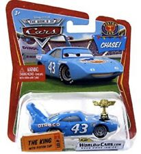 DISNEY PIXAR CARS 1 2 3 DIECAST 1:55 -  THE KING WITH PISTON CUP #101 - CHASE!
