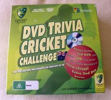 DVD Trivia Cricket Challenge Game - Australia - with Bonus Disc - VGC - 800 Ques